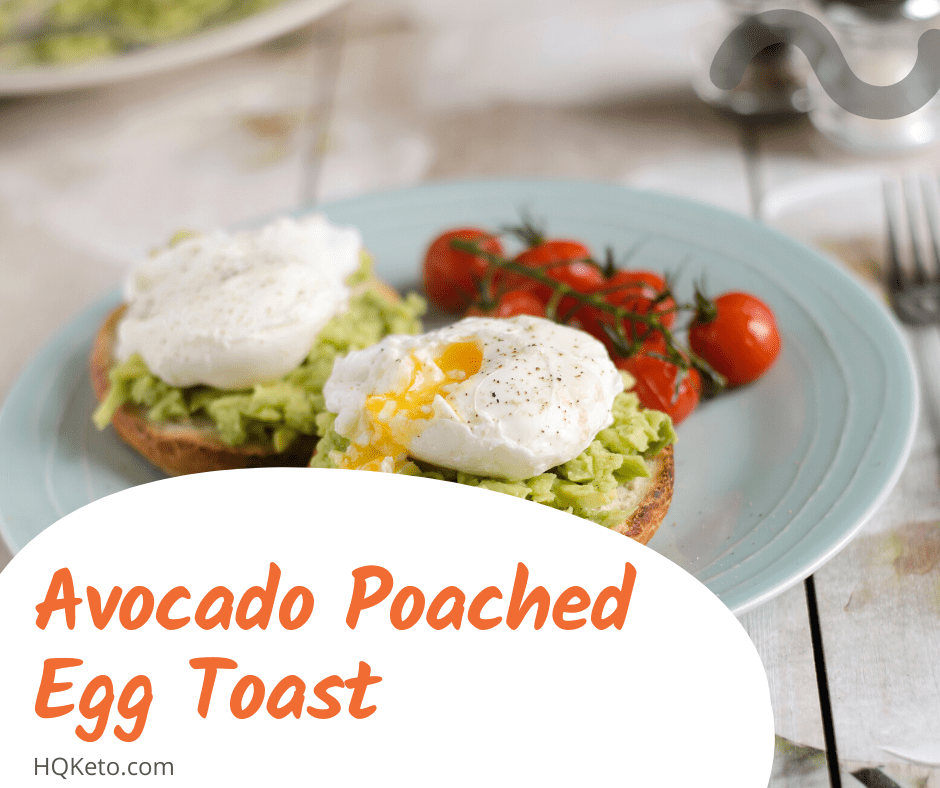 keto Egg Toast breakfast