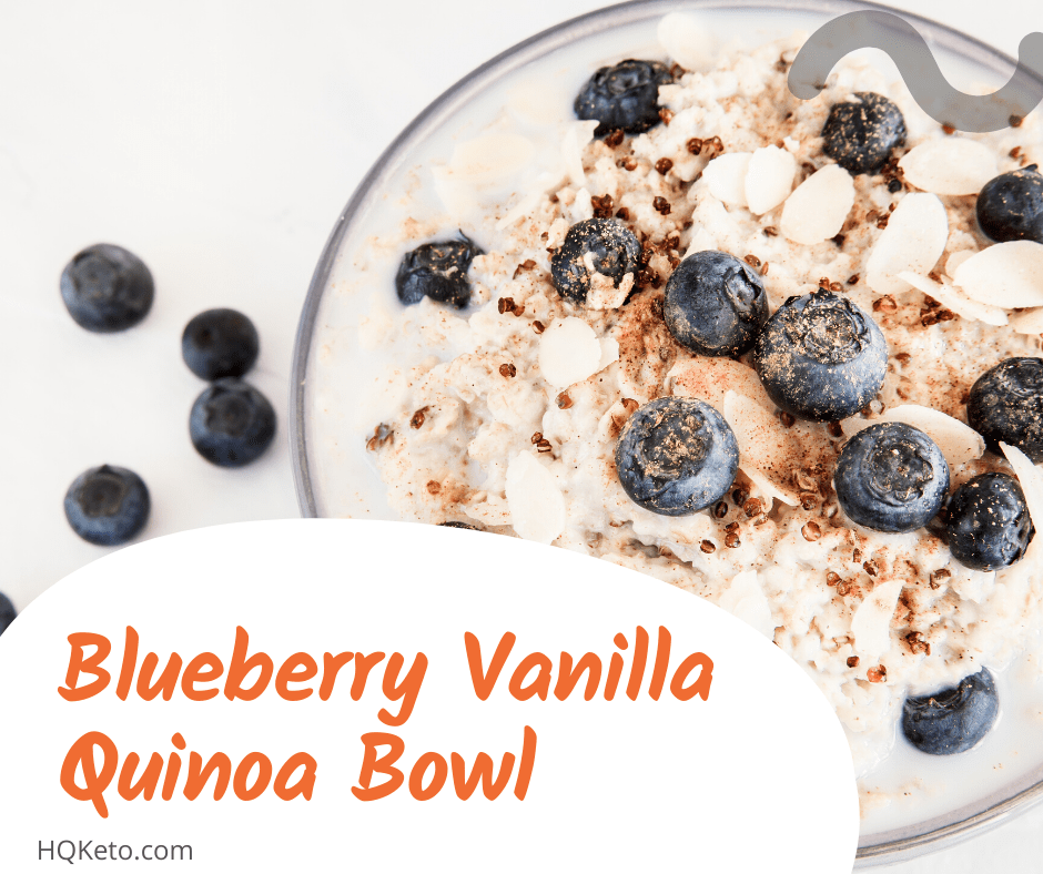 keto Blueberry Bowl