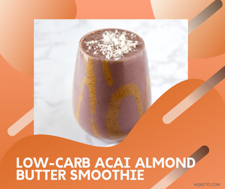 Acai Almond Butter Smoothie