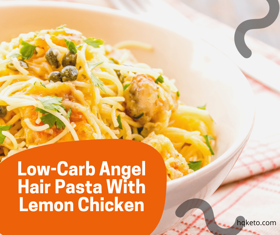 Angel Hair Pasta With Lemon Chicken