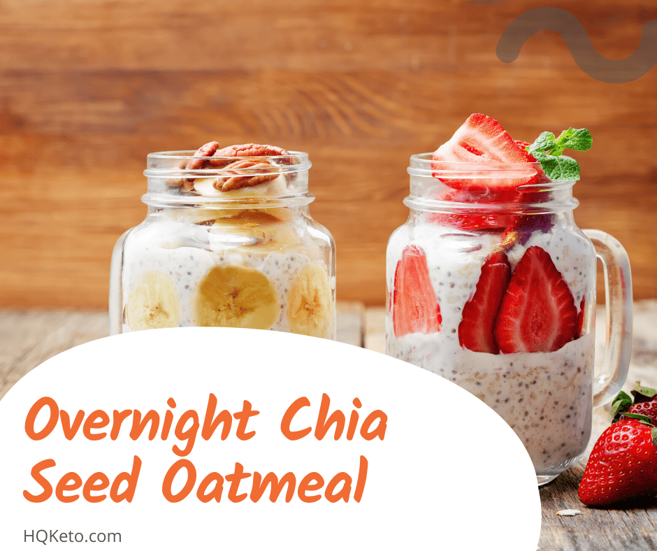 Chia Seed Oatmeal Breakfast