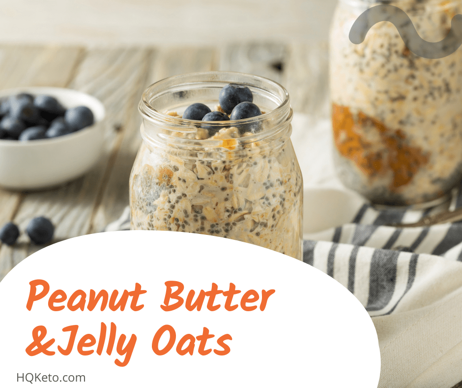 Peanut Butter & Jelly Oats