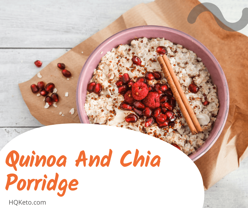 low carb uinoa And Chia Porridge