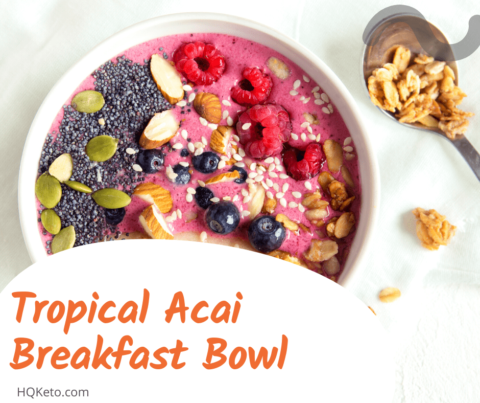 Tropical Acai Breakfast