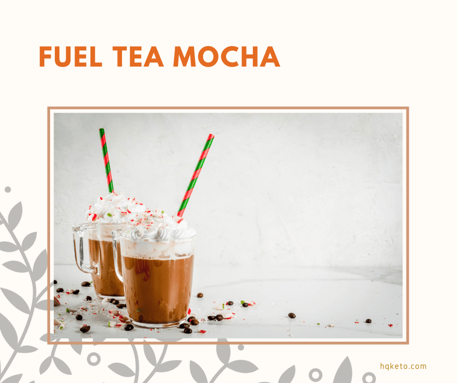 keto Fuel Mocha Tea