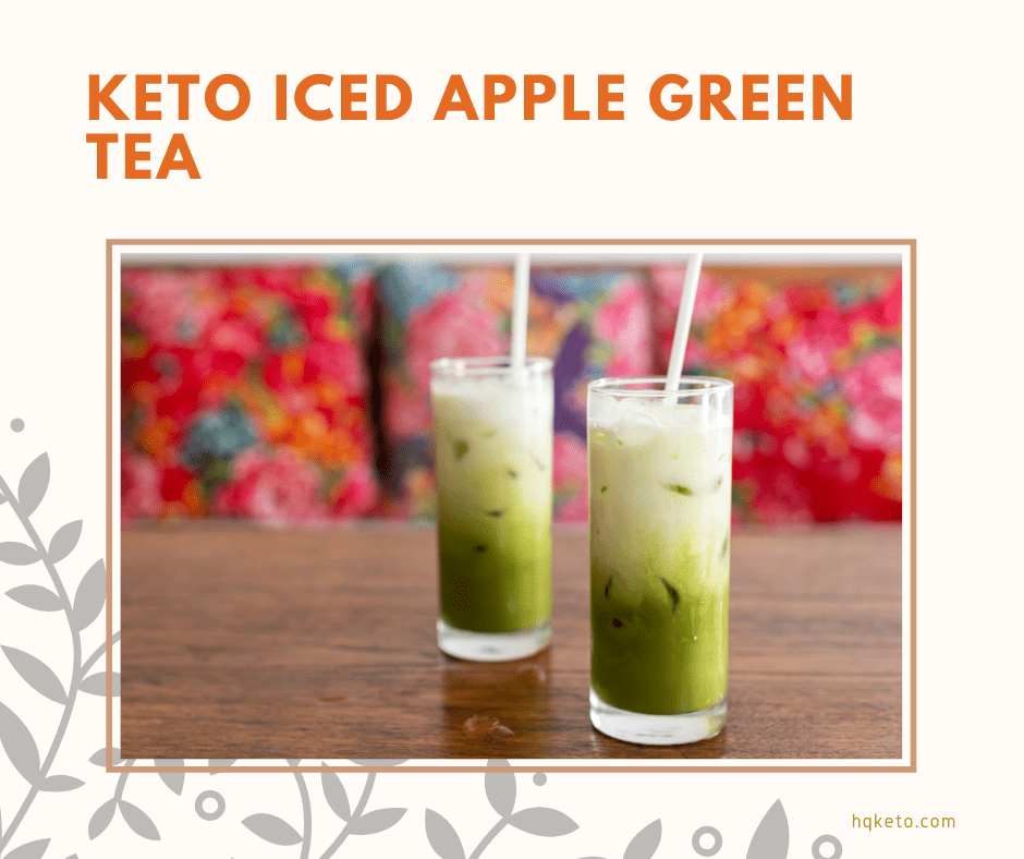 lowcarb Iced Apple Green Tea