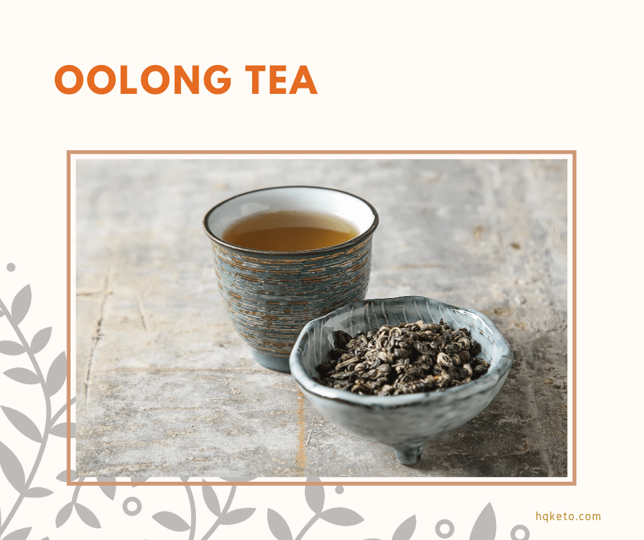 low carb Oolong Tea