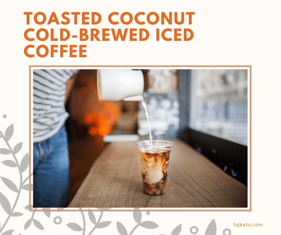 Coconut Cold coffee