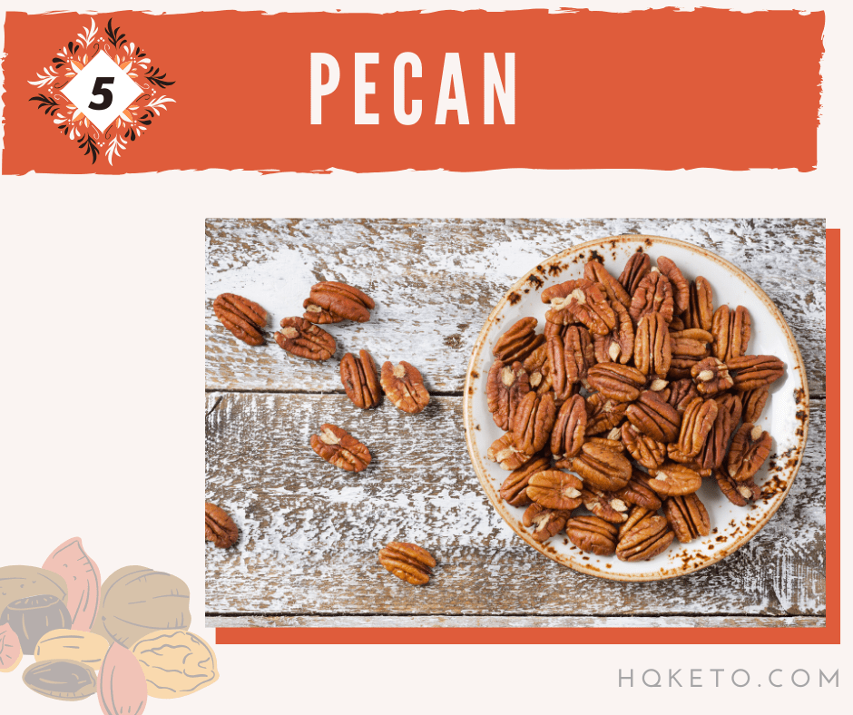 pecan nuts vs walnuts