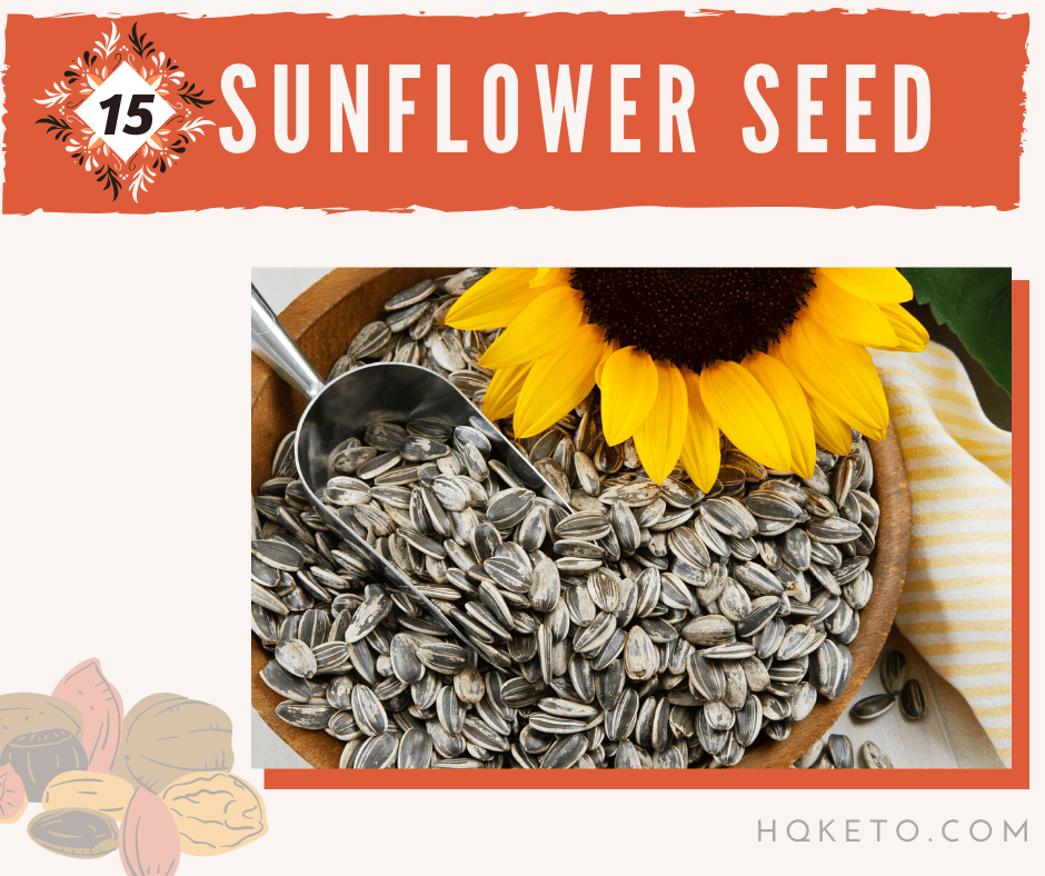 sunflower keto seeds