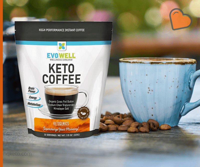 Evowell Keto Coffee MCT oil