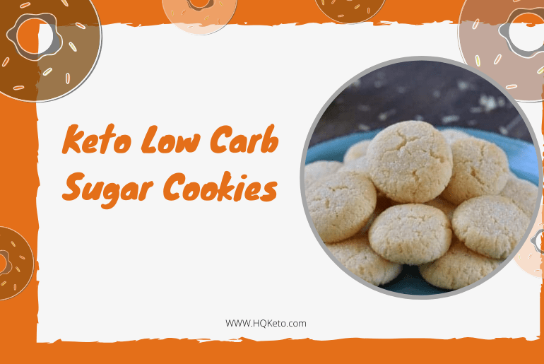 low carb cookies with sugar