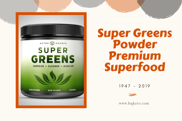 est green powder for cancer