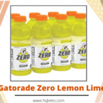 Gatorade Zero Keto Lemon Lime