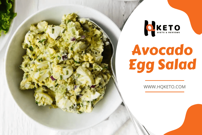 Avocado plus Egg Salad