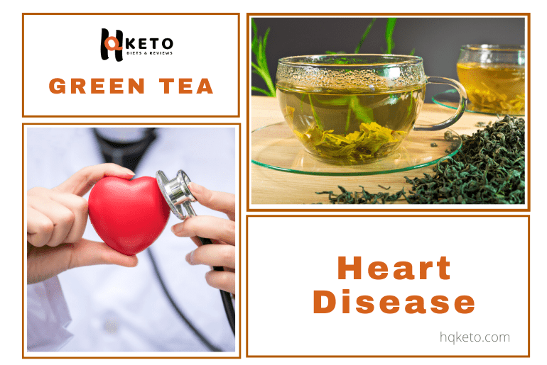 green tea control Heart Disease