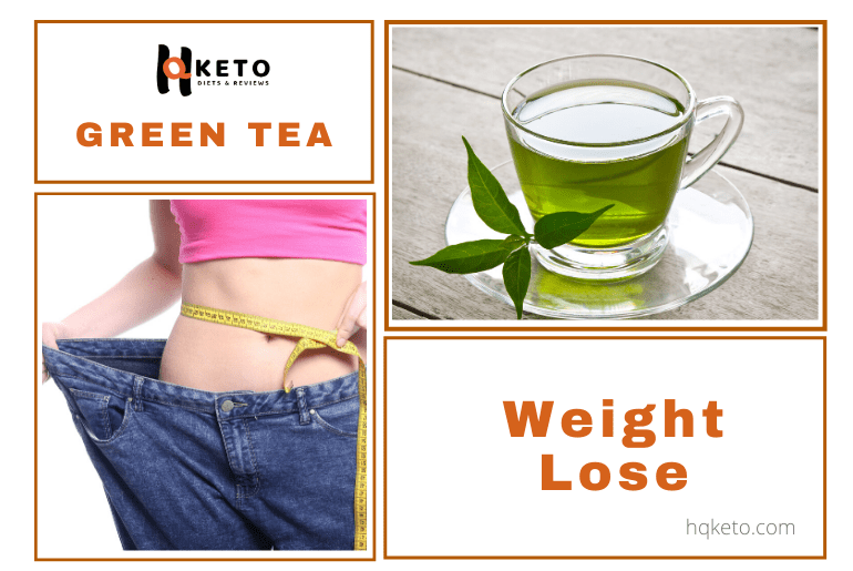 Weight Lose with green tea