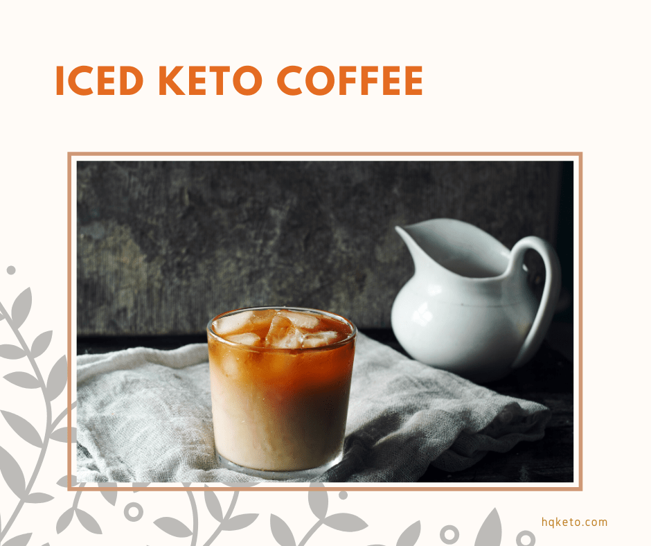 Keto Coffee iced