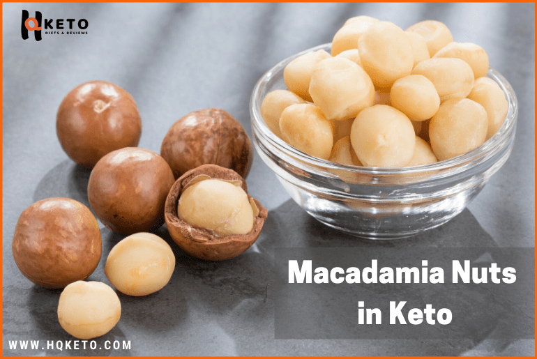 keto friendly Macadamia Nuts