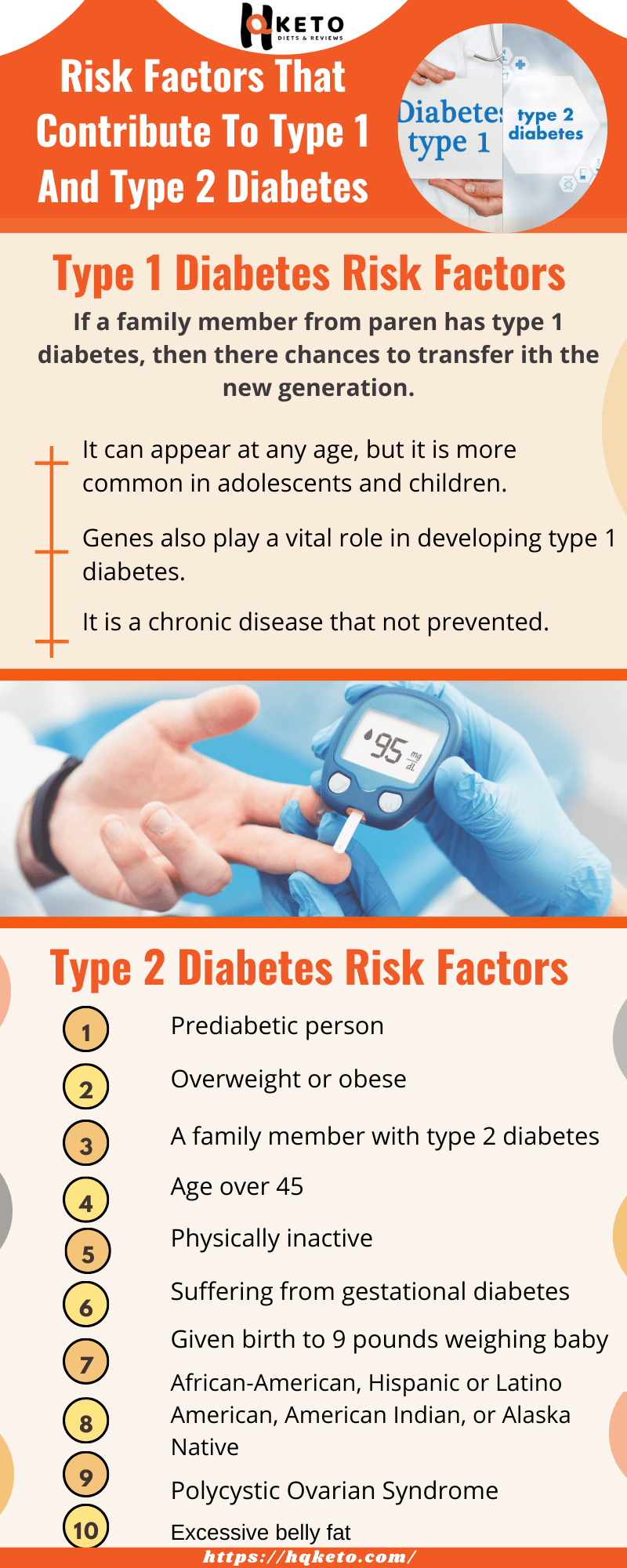 Risk Factors Type 1 And Type 2 Diabetes