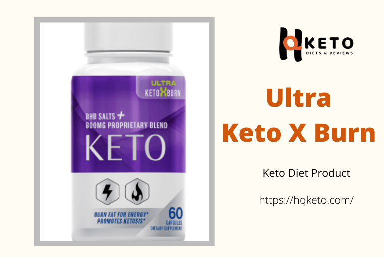 Keto X Burn diet pills