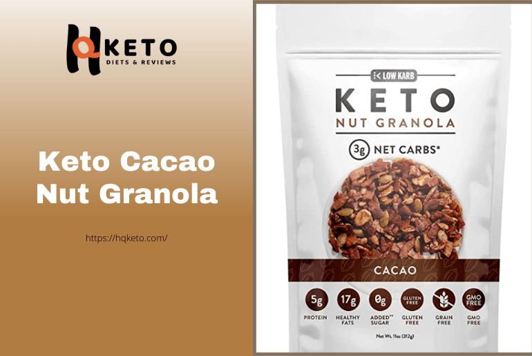 Low Carb Cacao Nut Granola