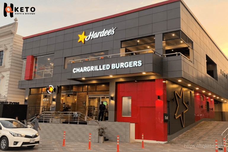 low carb option hardees