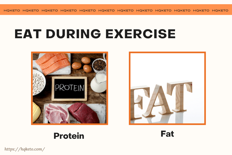 Eat during Exercise
